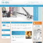 浦添市経塚に新規オープンしたヘアサロン/M-ON(エム・オン)のHP制作